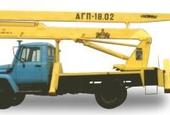 Автовышка АГП-18-02