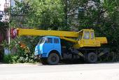 Автомобильный кран КС-3577-3-1